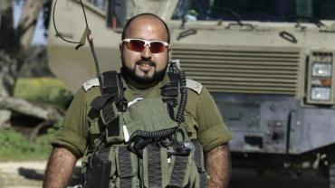Mohammed Shibli beduino musulmán en el Ejercito Israelí