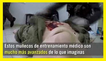 MUÑECOS DE ENTRNAMIENTO MÉDICO TZÁHAL