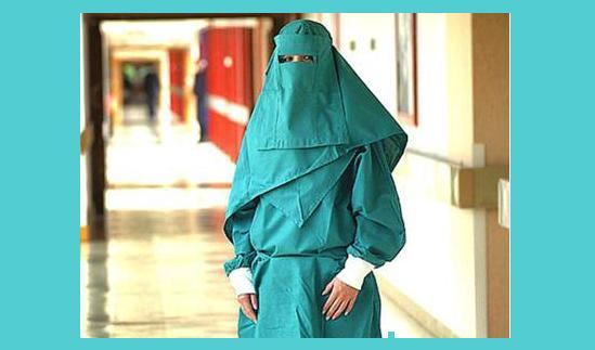 enfermera islam