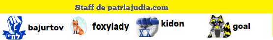 Staff de Patria Judía.com